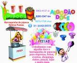 ---máquina de algodão do com a menina para fazer e todos os nossos materiais inclusos  Sétima Festas e Eventos