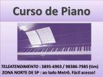 aula particular de piano clássico e piano popular zona norte sp santana e tucuruvi