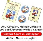 Kit 7 Cordas  Método de Violão