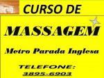 Curso de massagem estetica zona norte sao paulo ao lado metro