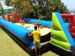 Aluguel de Futebol de Sabão Tobogã Castelinho Pula pula e muito mais brinquedos