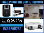 Aluguel de Data Showtelão e projetor Valinhos 19 30295723