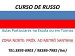 Aulas e Curso de Russo Zona Norte Metro Santana