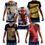 Camiseta Armani Ae Atacado - Camisetas para Revenda - Revender Roupas de Marca Marcas Grife Famosa