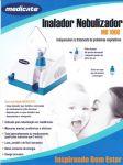 Inalador Nebulizador Md 1000 Medicate