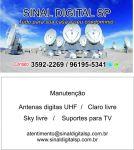 Instalação de antena uhf digital em são paulo
