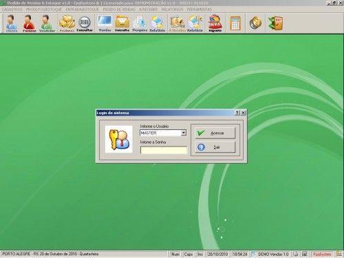 Programa para controlar vendas e estoque v1.0   FpqSystem 1896