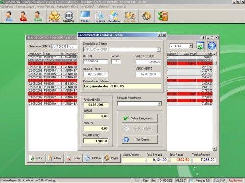 Programa para controlar vendas e estoque v1.0   FpqSystem 1898