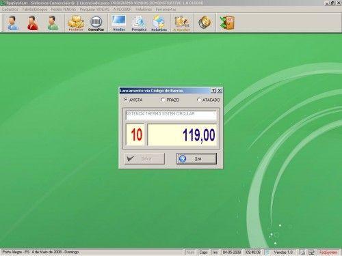 Programa para controlar vendas e estoque v1.0   FpqSystem 1902