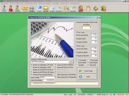 Programa para controlar vendas e estoque v1.0   FpqSystem 1906