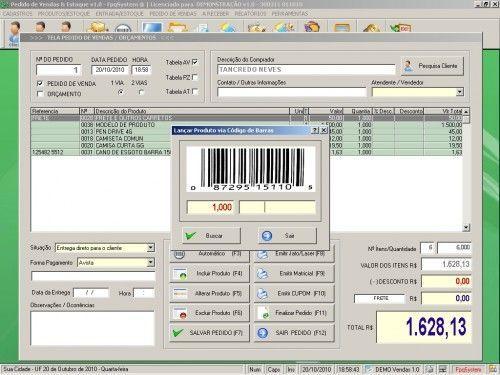 Programa para controlar vendas e estoque v1.0   FpqSystem 1908