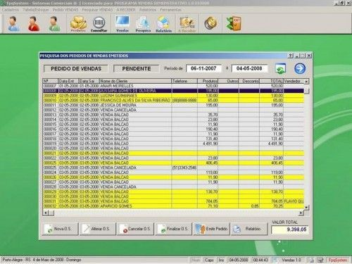 Programa para controlar vendas e estoque v1.0   FpqSystem 1910