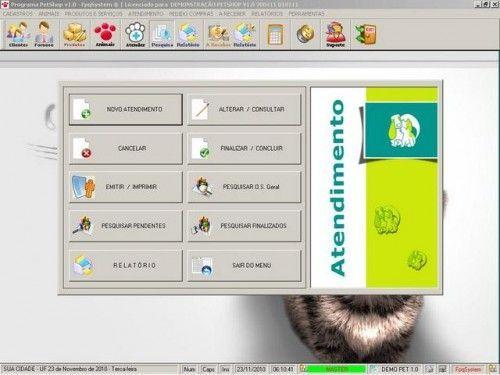 Programa para PetShop e Veterinária + Produtos e Serviços v1.0 2552