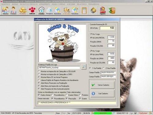 Programa para PetShop e Veterinária + Produtos e Serviços v1.0 2555
