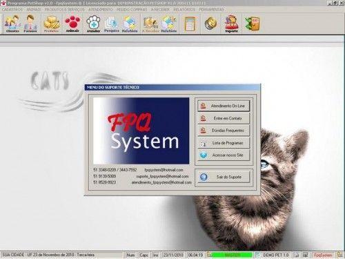 Programa para PetShop e Veterinária + Produtos e Serviços v1.0 2556
