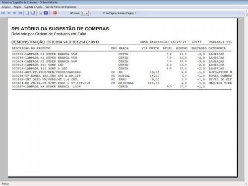 Programa para Oficina Mecânica para Veiculos em Geral, Vendas e Financeiro v4.0 FpqSystem 97795