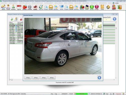 Programa para Oficina Mecânica com Check List + Vendas e Financeiro v5.0 92496