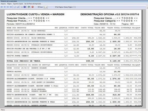 Programa para Oficina Mecânica com Check List + Vendas e Financeiro v5.0 92500