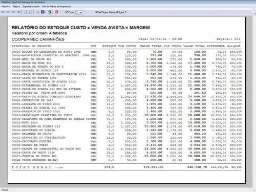 Programa para Oficina Mecânica CAMINHÃO com Check List + Vendas e Financeiro v5.2 PLUS 92543