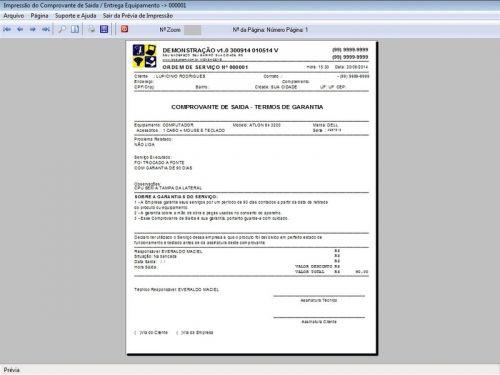 Programa Assistência Técnica, Ordem de Serviço e Orçamento v1.0 FpqSystem 96362