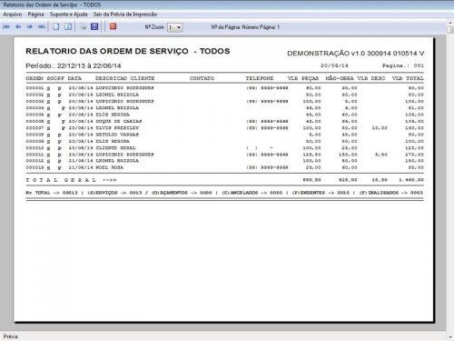 Programa Assistência Técnica, Ordem de Serviço e Orçamento v1.0 FpqSystem 96367