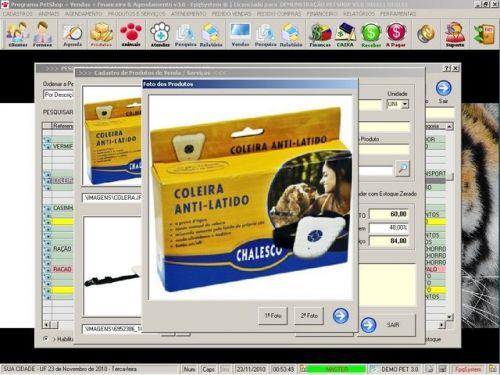Programa para PetShop e Veterinária com Vendas, Serviços e Financeiro v3.0 - FpqSystem 97655
