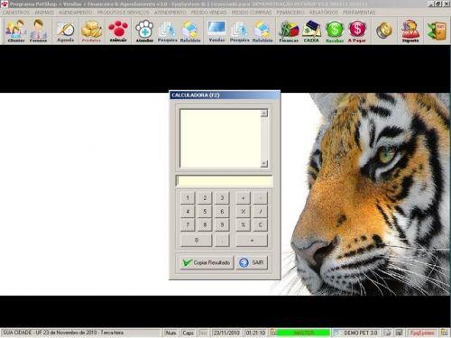 Programa para PetShop e Veterinária com Vendas, Serviços e Financeiro v3.0 - FpqSystem 97656