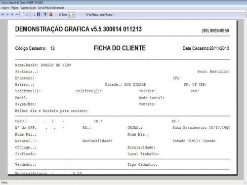 Programa Gráfica Rápida com Cadastro de Clientes, Serviços e Financeiro v5.5 PLUS - FpqSystem 97807