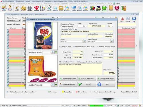 Programa para PetShop e Agropecuária com Agendamento, Vendas e Financeiro v4.0 Plus 151132