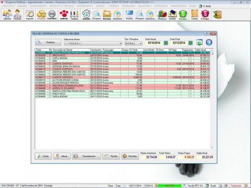 Programa para PetShop e Agropecuária com Agendamento, Vendas e Financeiro v4.0 Plus 151140