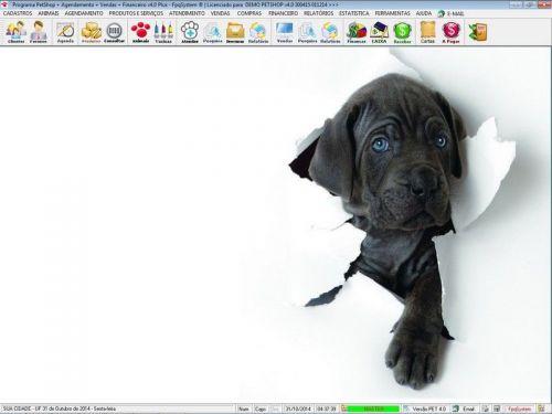 Programa para PetShop e Agropecuária com Agendamento, Vendas e Financeiro v4.0 Plus 151141