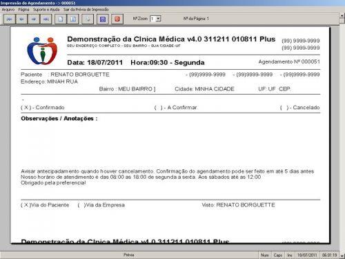 Programa Consultório e Clinica Médica com Agendamento, Vendas e Financeiro v4.0 151740