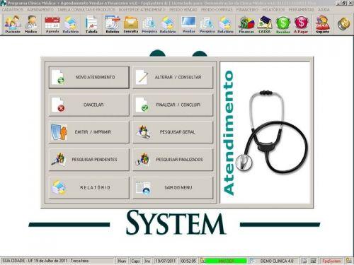 Programa Consultório e Clinica Médica com Agendamento, Vendas e Financeiro v4.0 151741
