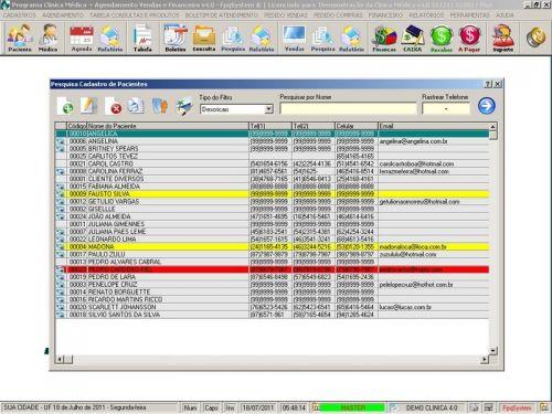 Programa Consultório e Clinica Médica com Agendamento, Vendas e Financeiro v4.0 151746