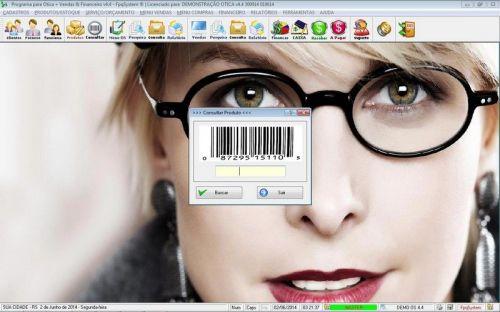 Programa para Ótica e Relojoalheria Vendas + Financeiro v4.4 - FpqSystem 151966