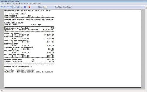 Programa para Ótica e Relojoalheria Vendas + Financeiro v4.4 - FpqSystem 151968