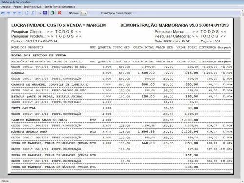 Programa Ordem de Serviço Marmoraria com Vendas e Financeiro e Agendamento v5.8 152283