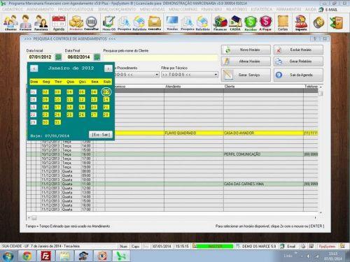 Programa Ordem de Serviço Marcenaria com Vendas e Financeiro e Agendamento v5.9 - FpqSystem 152307