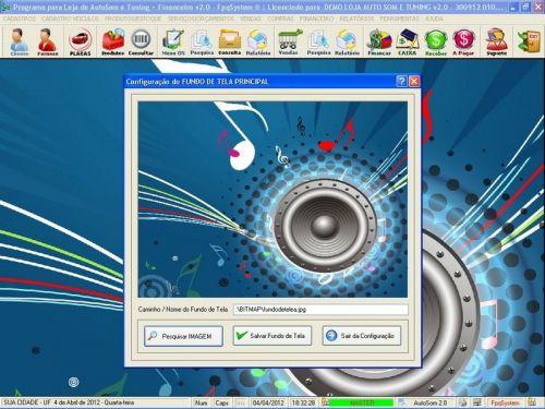 Programa para AutoSom e Tunning + Vendas e Financeiro v2.0 - Fpqsystem 152339