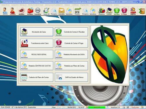 Programa para AutoSom e Tunning + Vendas e Financeiro v2.0 - Fpqsystem 152341