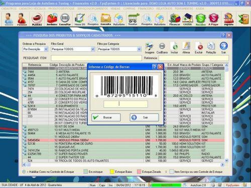 Programa para AutoSom e Tunning + Vendas e Financeiro v2.0 - Fpqsystem 152352