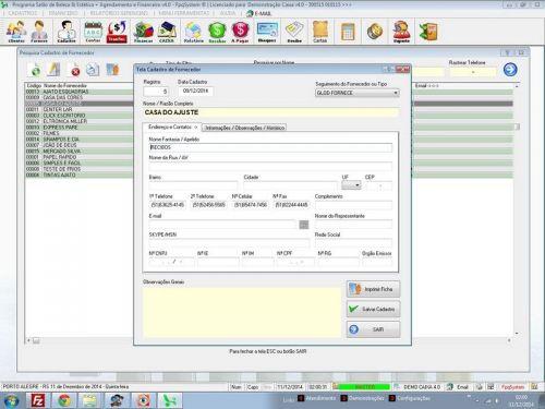 Programa Livro Caixa Financeiro Completo v4.0 Plus - FpqSystem 152504