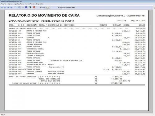 Programa Livro Caixa Financeiro Completo v4.0 Plus - FpqSystem 152518