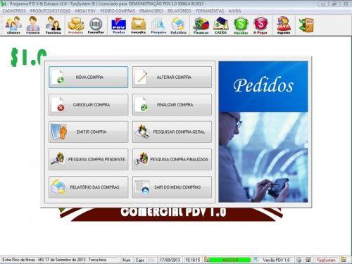 Programa PDV Frente de Caixa, Estoque e Financeiro v1.0 - FpqSystem 152528