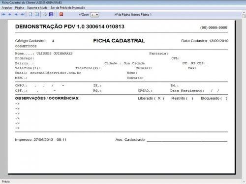 Programa PDV Frente de Caixa, Estoque e Financeiro v1.0 - FpqSystem 152529