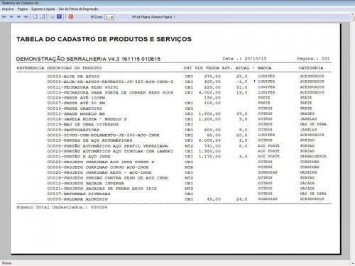Programa Ordem de Serviço Serralheria com Vendas e Financeiro v4.3 187868