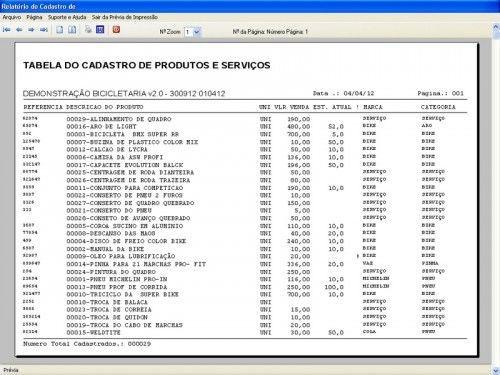 Programa para Bicicletaria com Ordem de Serviço Vendas e Financeiro v2.0  FpqSystem 6663