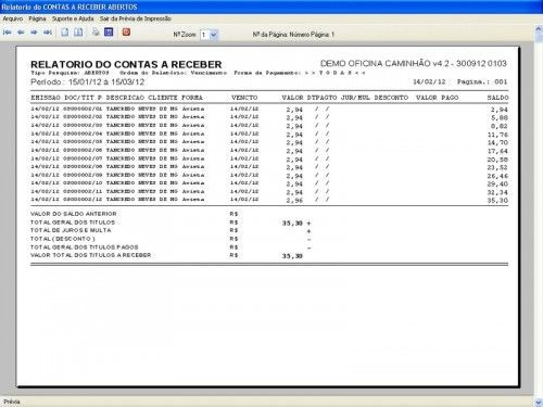 Programa OS Oficina Mecânica Caminhão com Serviços Orçamentos Vendas e Financeiro v4.2 6729