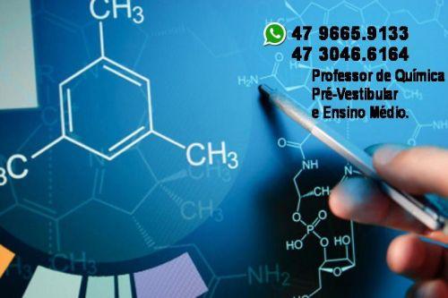 Aulas Particulares  Química - Ensino Médio  Pré Vestibular  Itajaí  . 257044