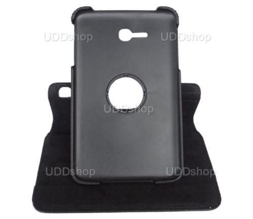 Capa Giratória 360º PRETA Tablet Samsung Galaxy Tab3 Lite 7 SM-T110 e SM-T111 + Frete Grátis 72007